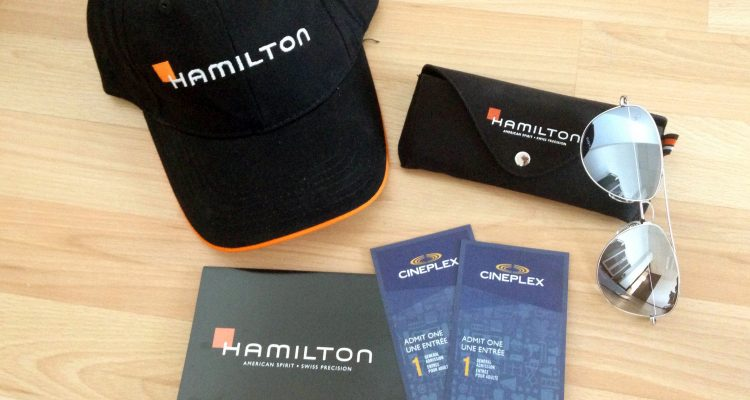 Hamilton Watch giveaway