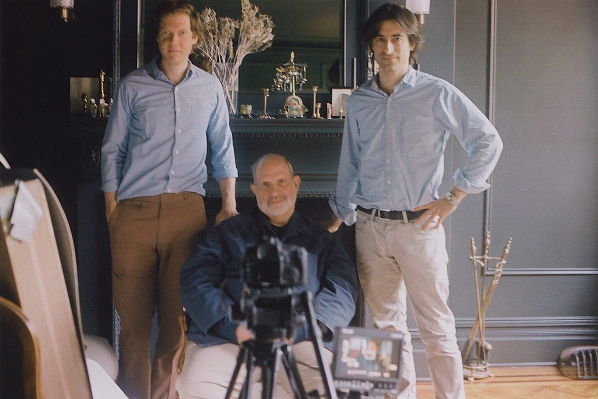 Jake Paltrow, Brian De Palma, and Noah Baumbach