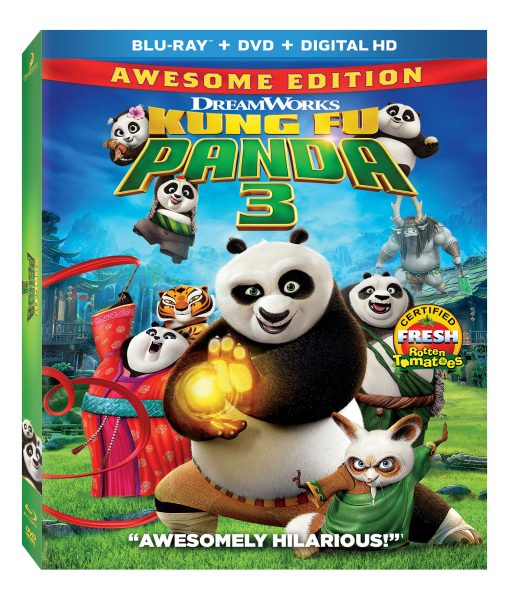 Kung Fu Panda on Blu-ray Combo Pack
