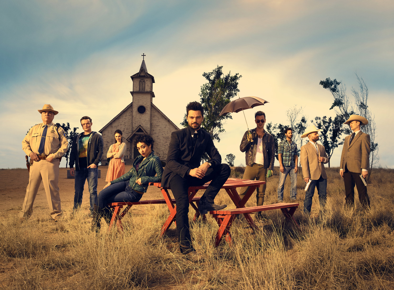 The cast of Preacher