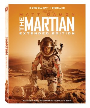 The Martian Extended Edition on Blu-ray