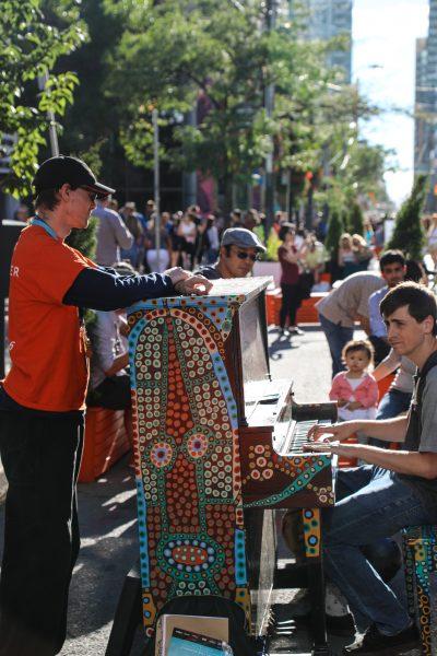 On TIFF Festival Street