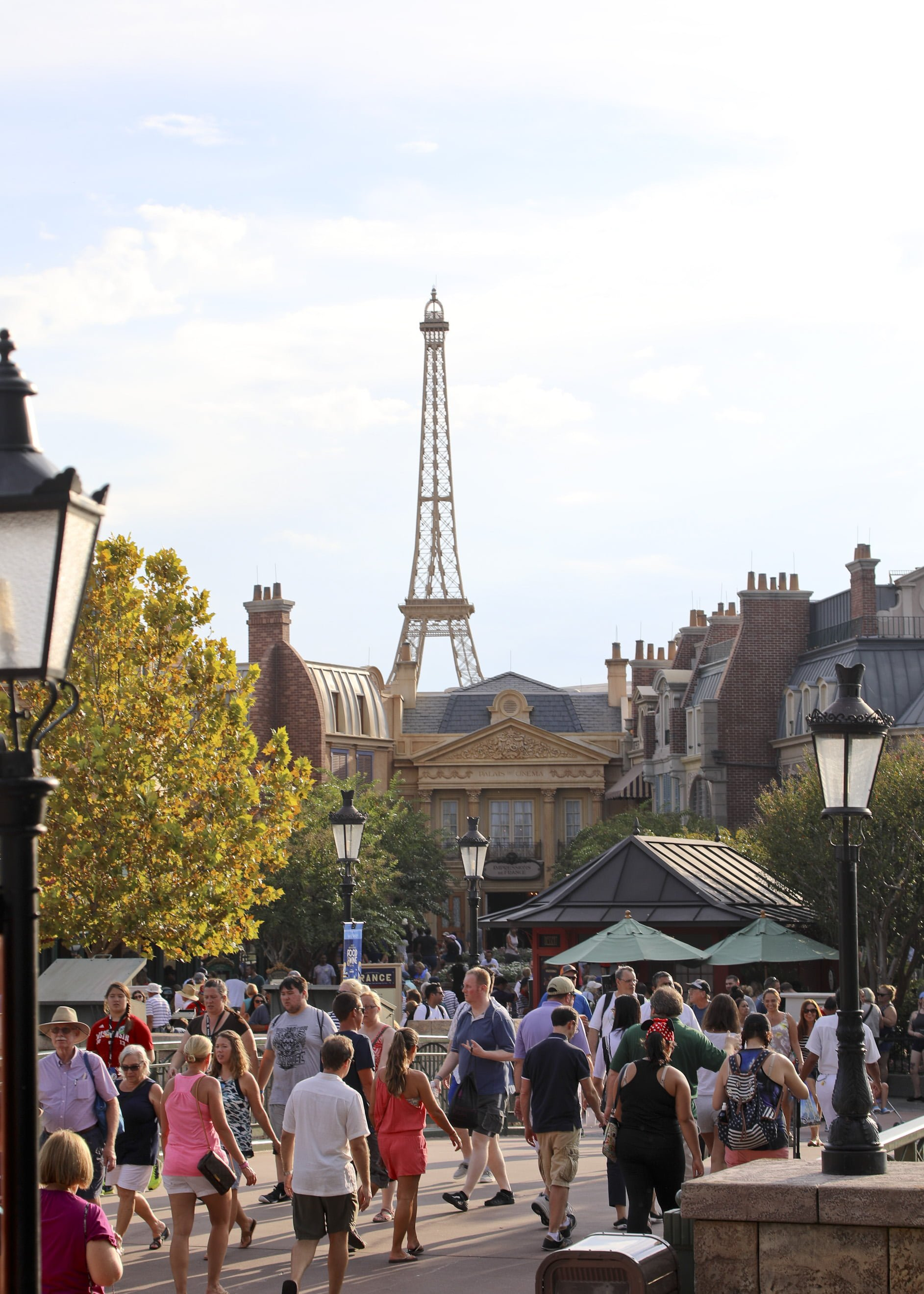 France in Epcot