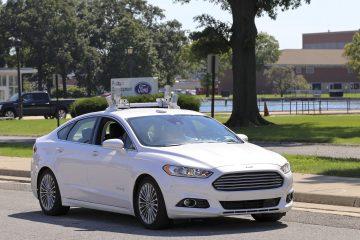 Ford autonomous car