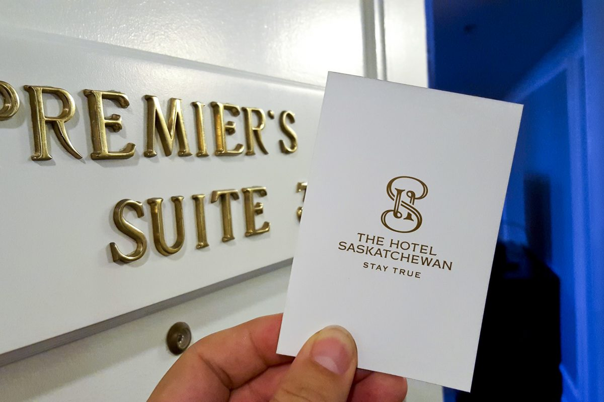 Premier's Suite at The Hotel Saskatchewan
