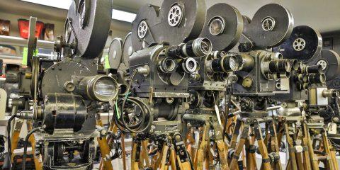 Retro press cameras