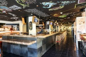 Mama Shelter cafe and bar