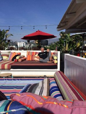 Mama Shelter Los Angeles - Rooftop Patio