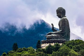 Tian Tan Buddha in Hong Kong