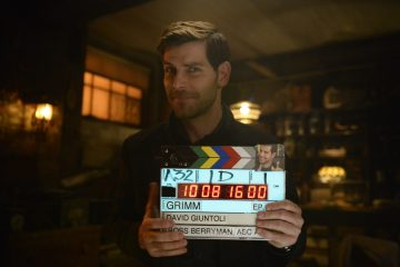 David Giuntoli from Grimm season 6