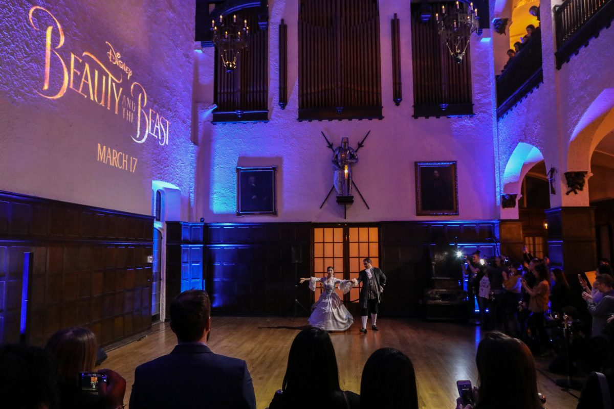 Beauty and the Beast preview event at Casa Loma