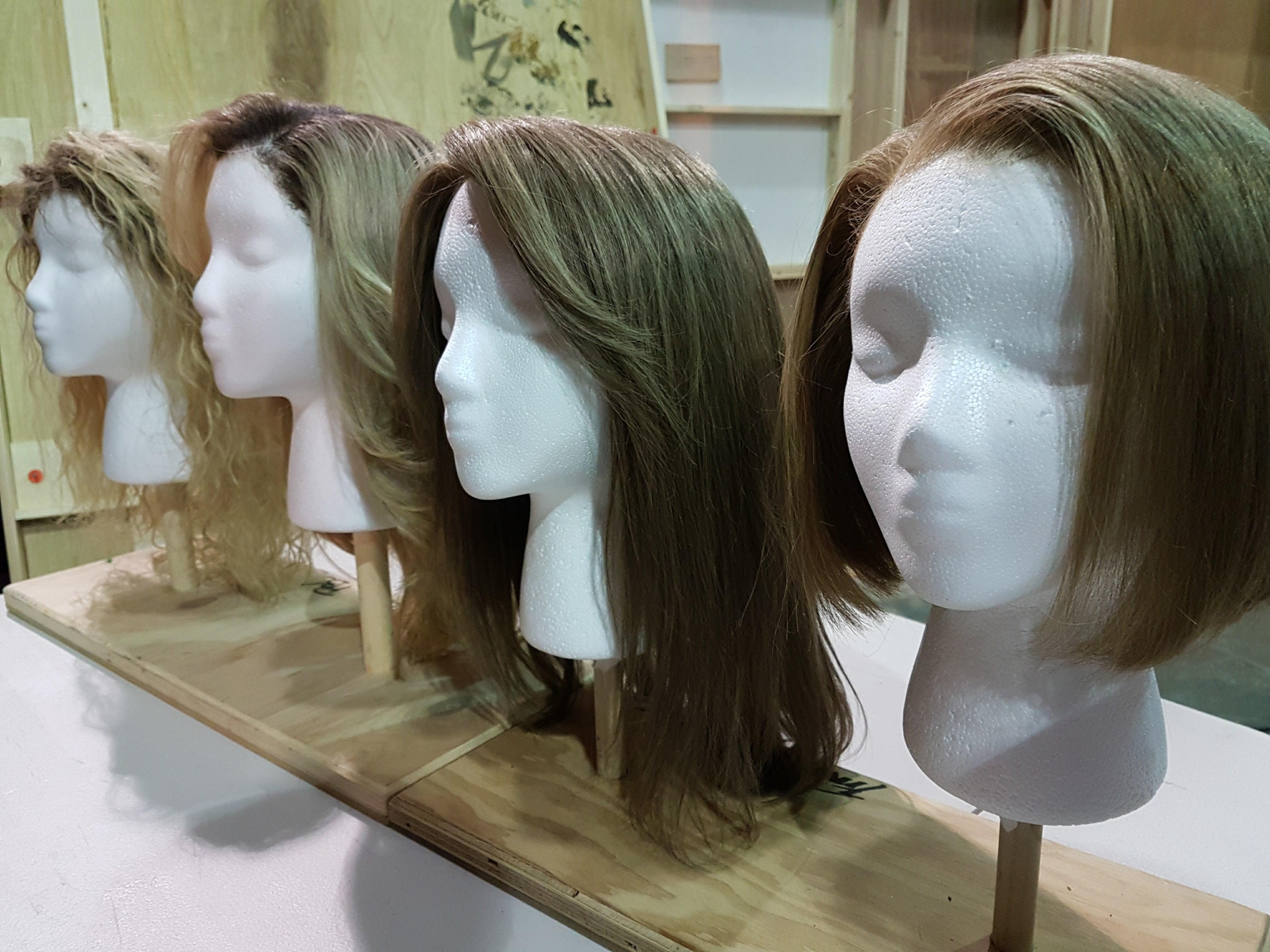 Tatiana Maslany character wigs