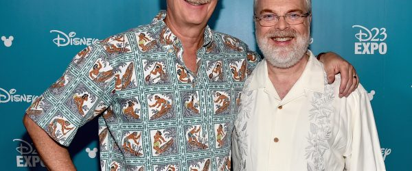 Moana directors John Musker and Ron Clements