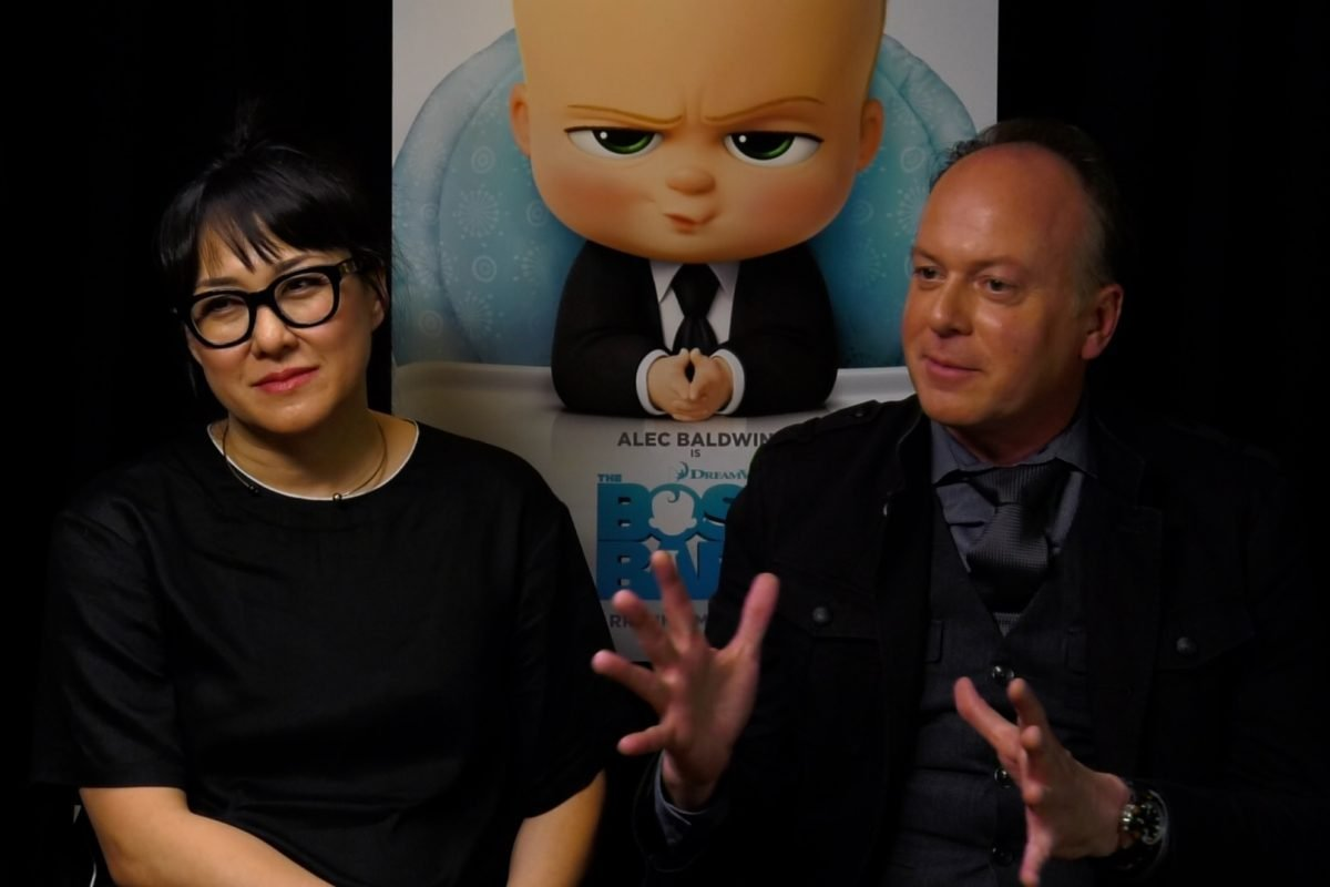 Director Tom McGrath and producer Ramsey Ann Naito talk The Boss Baby