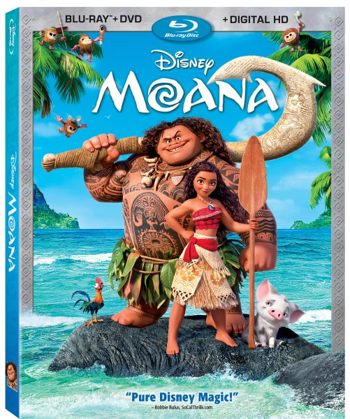 Moana on Blu-ray