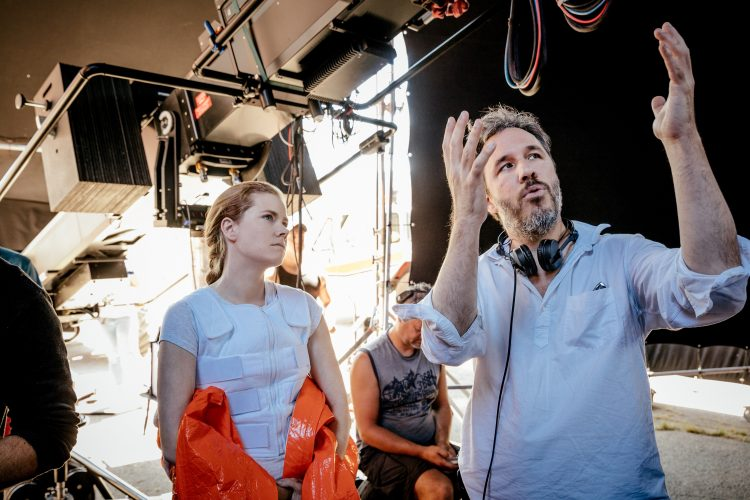 Amy Adams and Denis Villeneuve