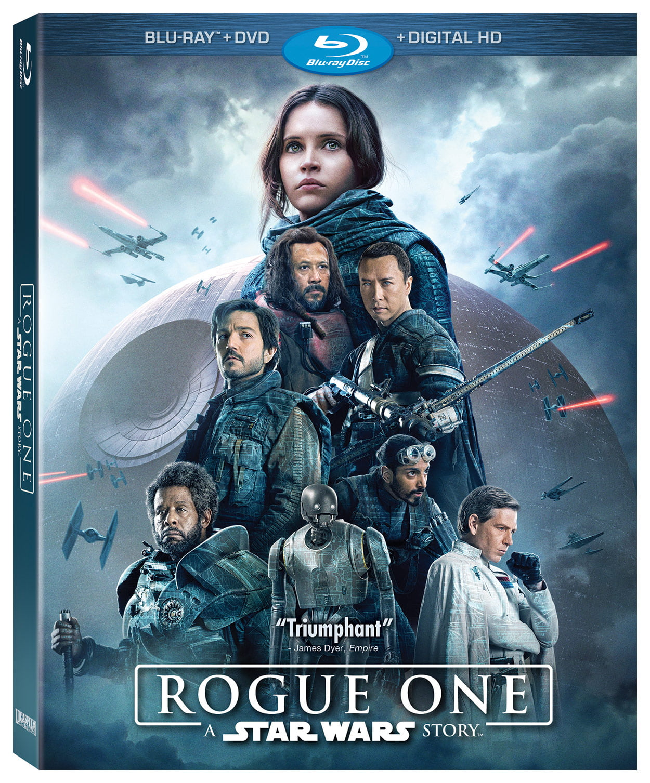 Star Wars Rogue One Blu Ray
