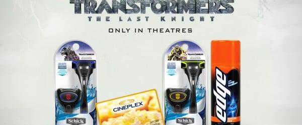 Schick Hydro 5 x Transformers