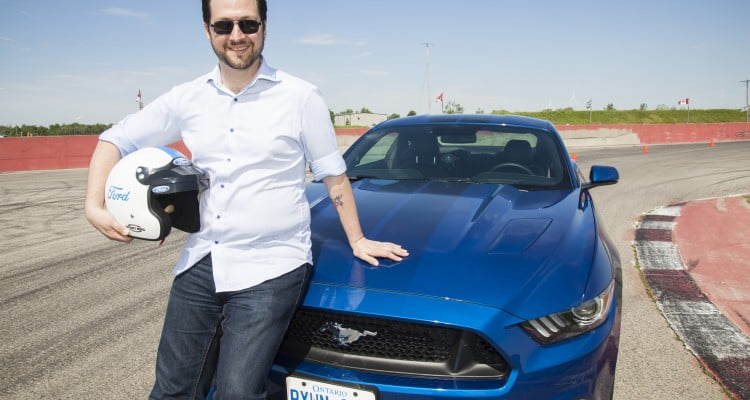 W. Andrew Powell & the 2017 Ford Mustang GT