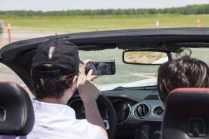 Selfies in the Mustang GT