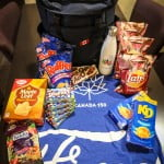 Canadian goodies in our #GoFurther150 bag