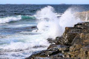 Fogo Island waves