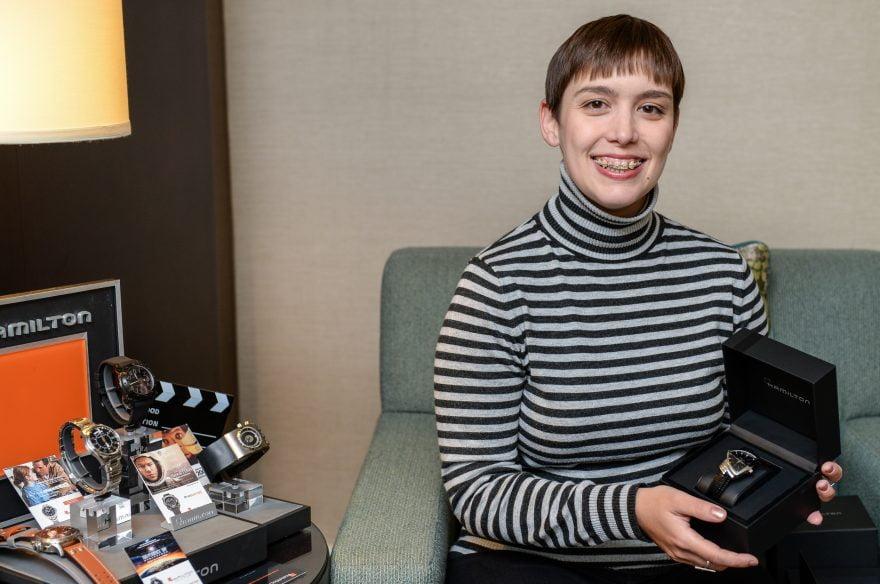 Hamilton Watch winner Alicia P