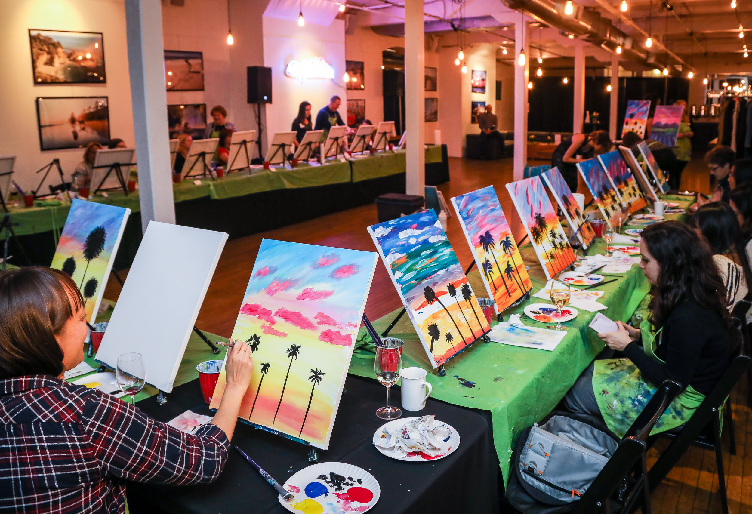 Painting with Visit California