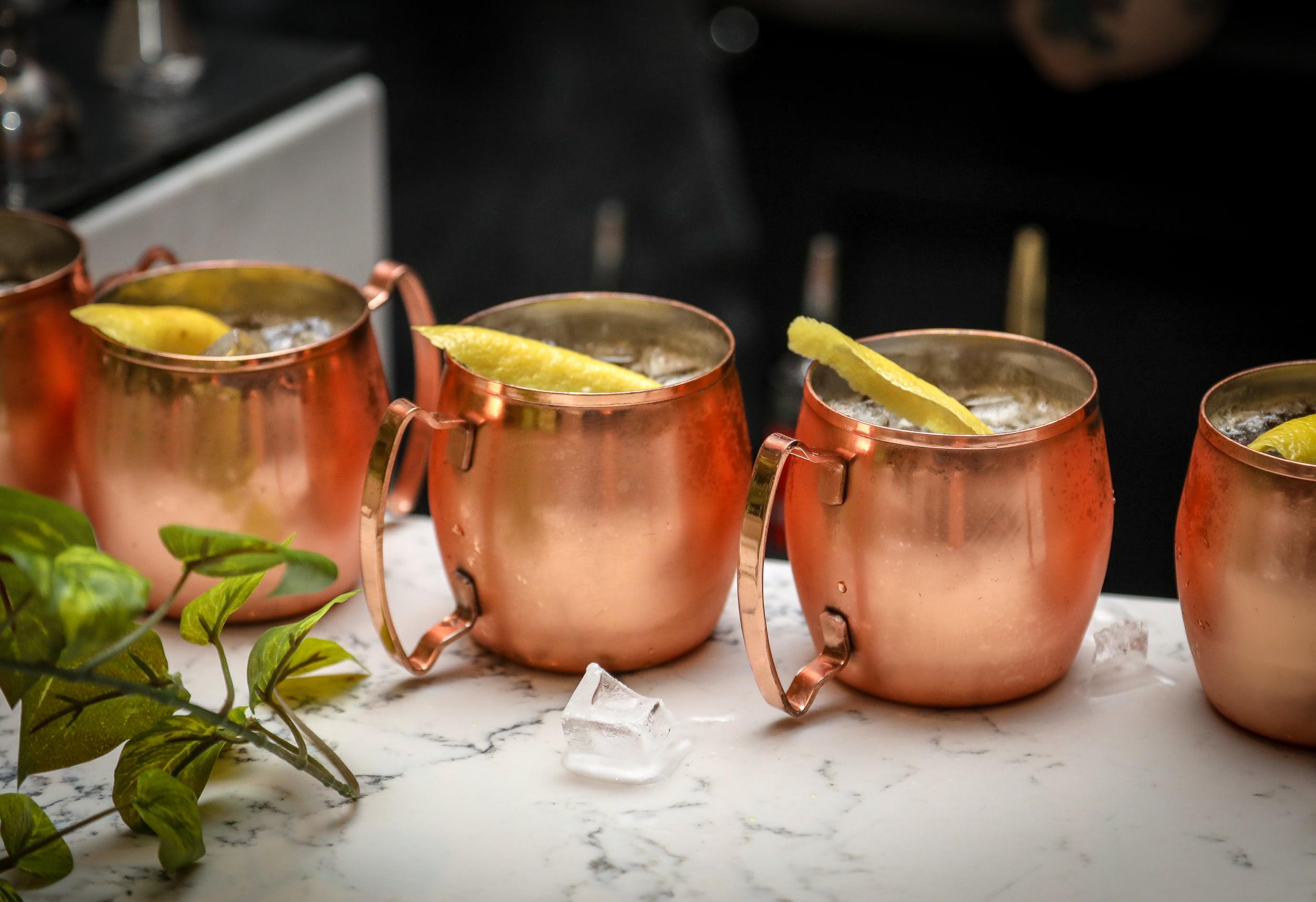 Wind Mule cocktail