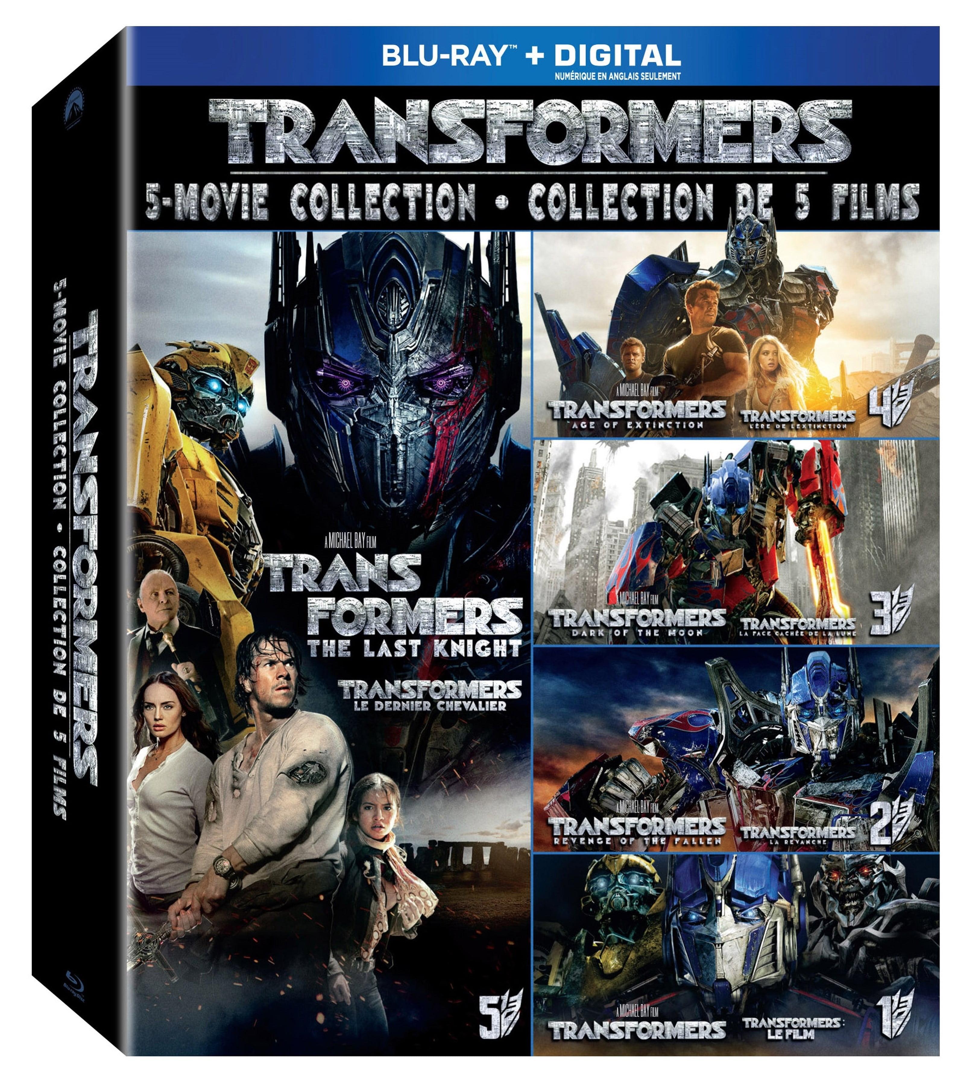 Transformers 5-disc Blu-ray pack