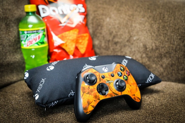 Doritos and Mountain Dew - for the Xbox One X giveaway