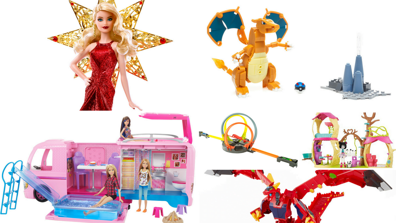 Mattel Holiday Giveaway prize pack