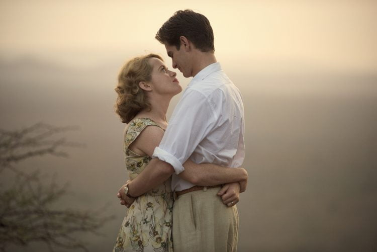Breathe starring Claire Foy and Andrew Garfield