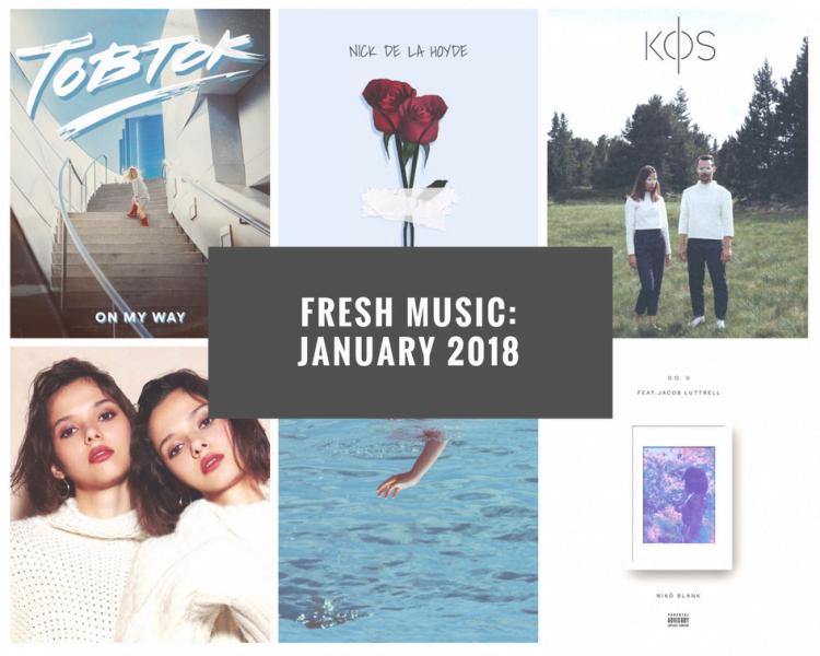 Fresh Indie Music January 2018