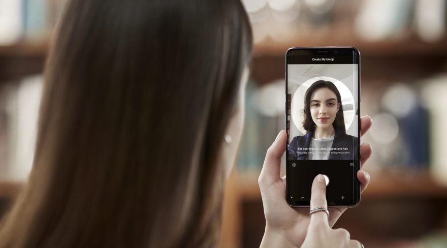 Samsung Galaxy S9 - AR Emoji