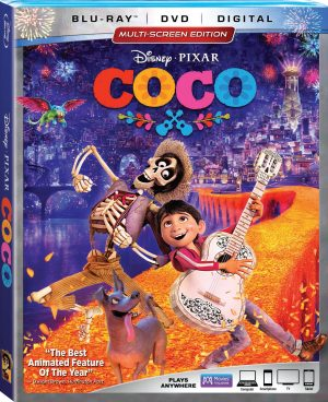 Coco on Blu-ray