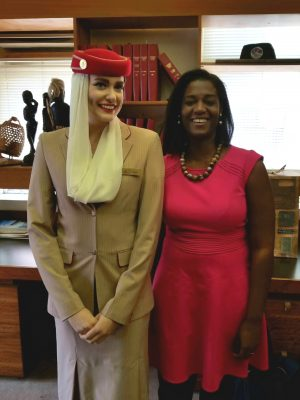 Emirates Airline - Kelsey Johnson and Heather Greenwood-Davis