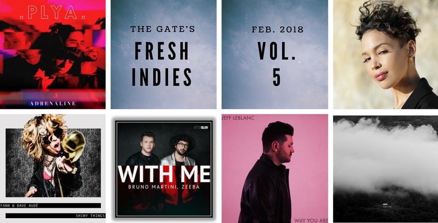 The GATE Fresh Indies Volume 5