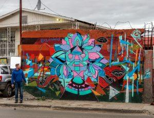 Clos' art in Tijuana