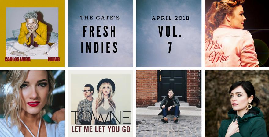Fresh Indies Vol. 7: Carlos Vara, Audra Mae, Leah Daniels, Towne, Stephen Babcock & Slow Skies