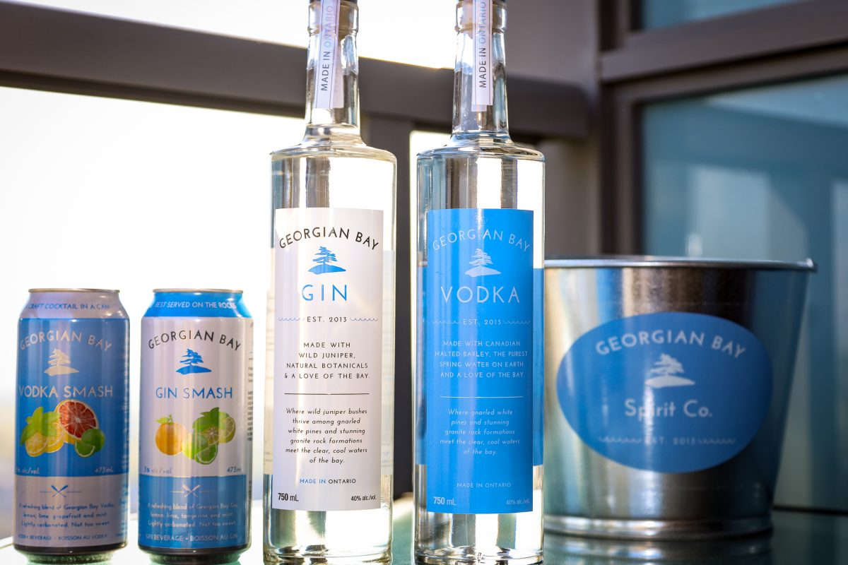 Georgian Bay Vodka and Georgian Bay Gin