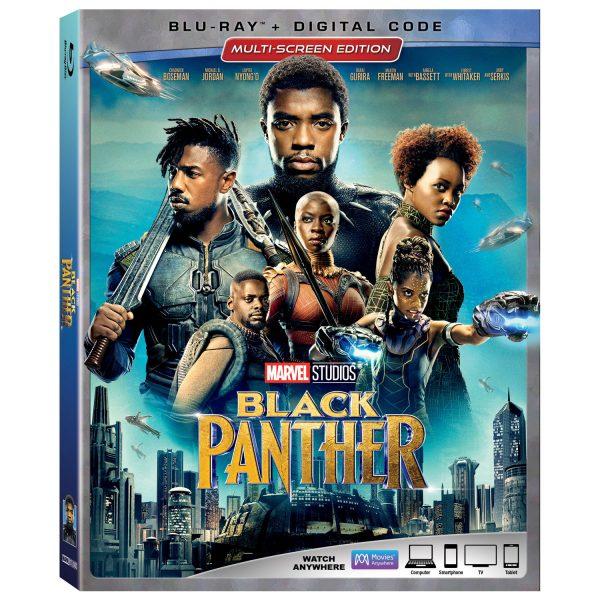 Black Panther on Blu-ray