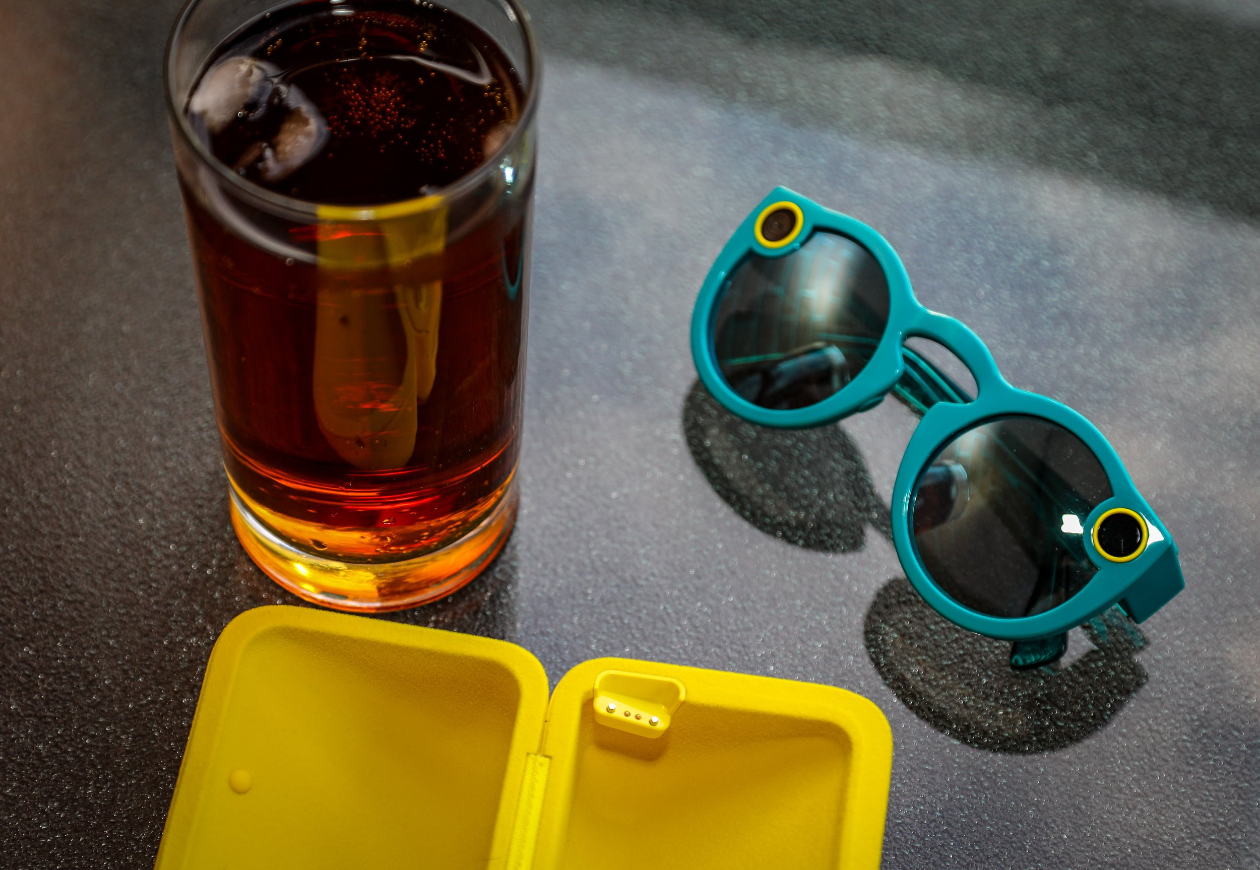 Mad Jack Iced Tea and Spectacles