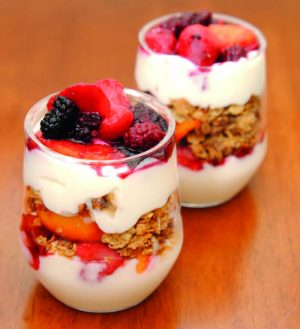 Danone Yogurt Parfait
