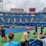 Stadium Court preparations