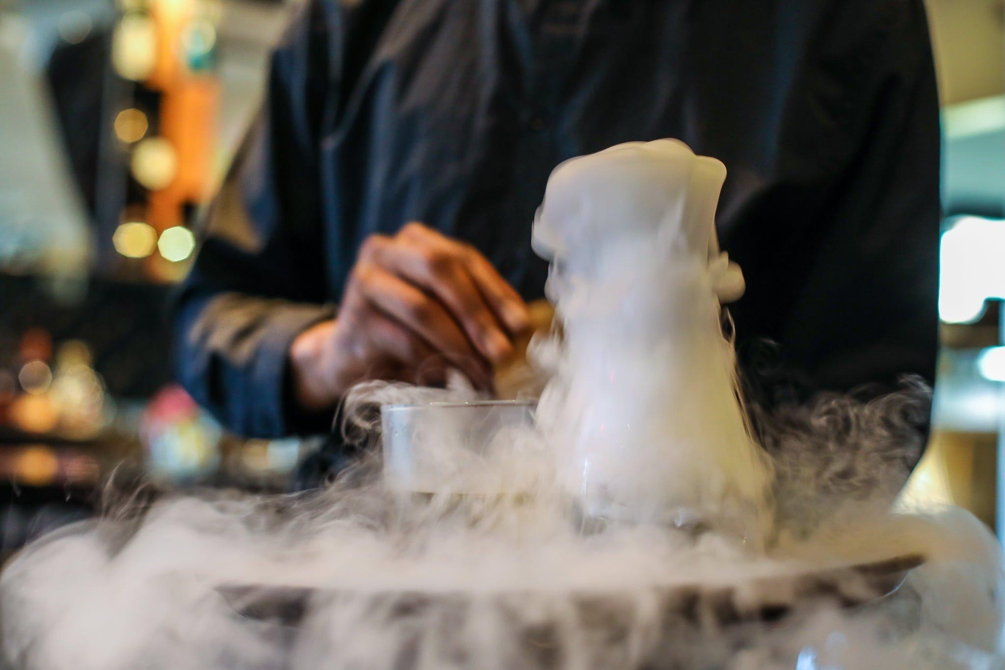 Johnny Blaze cocktail - Figures Restaurant