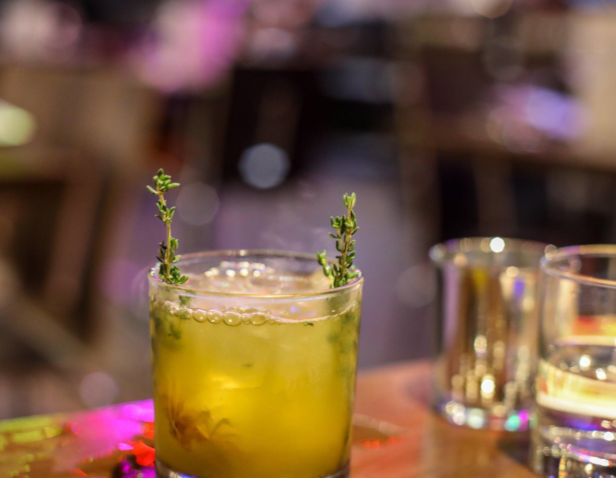 Poison Ivy cocktail - Figures Restaurant