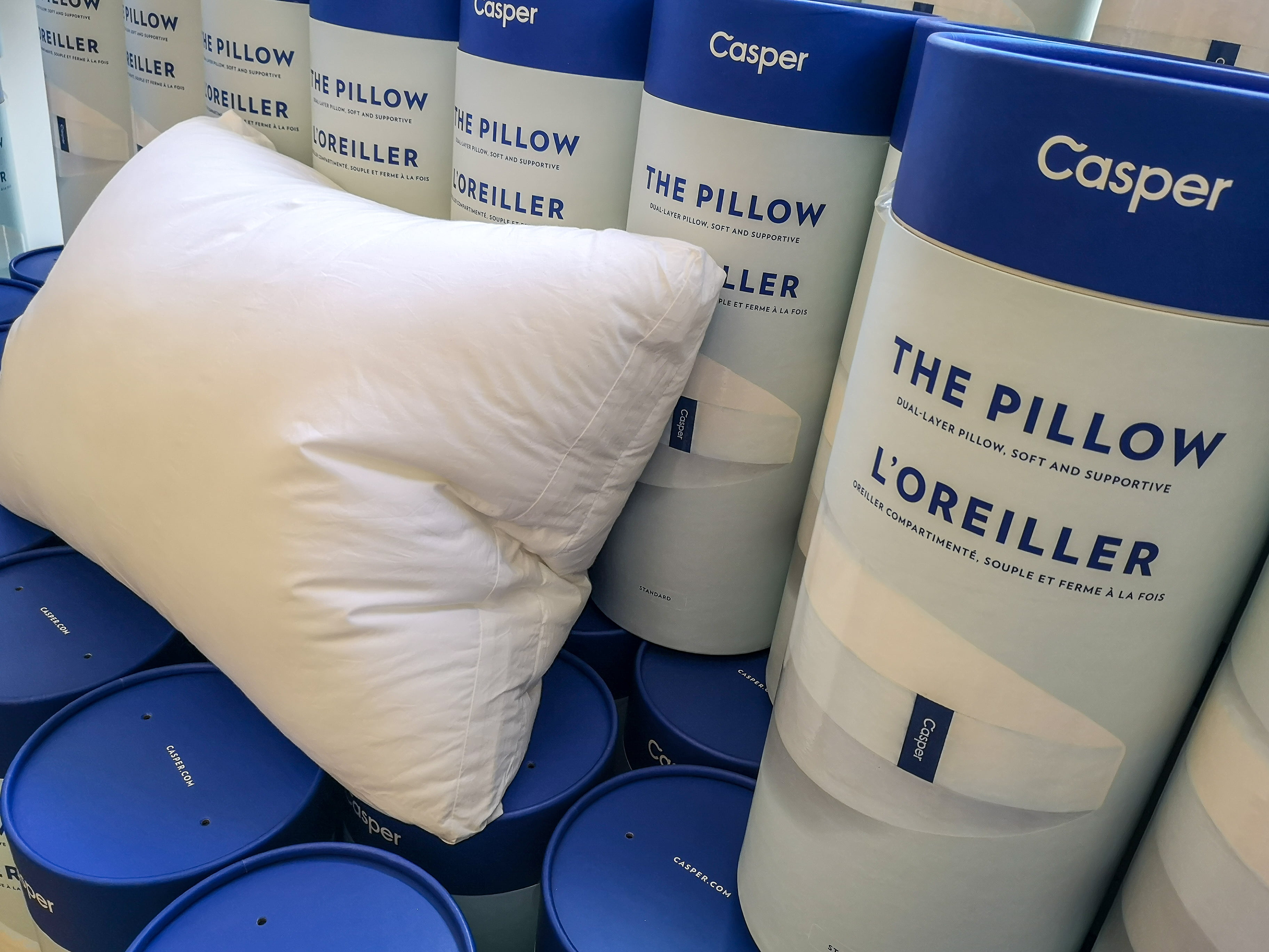Lots, and lots of pillows