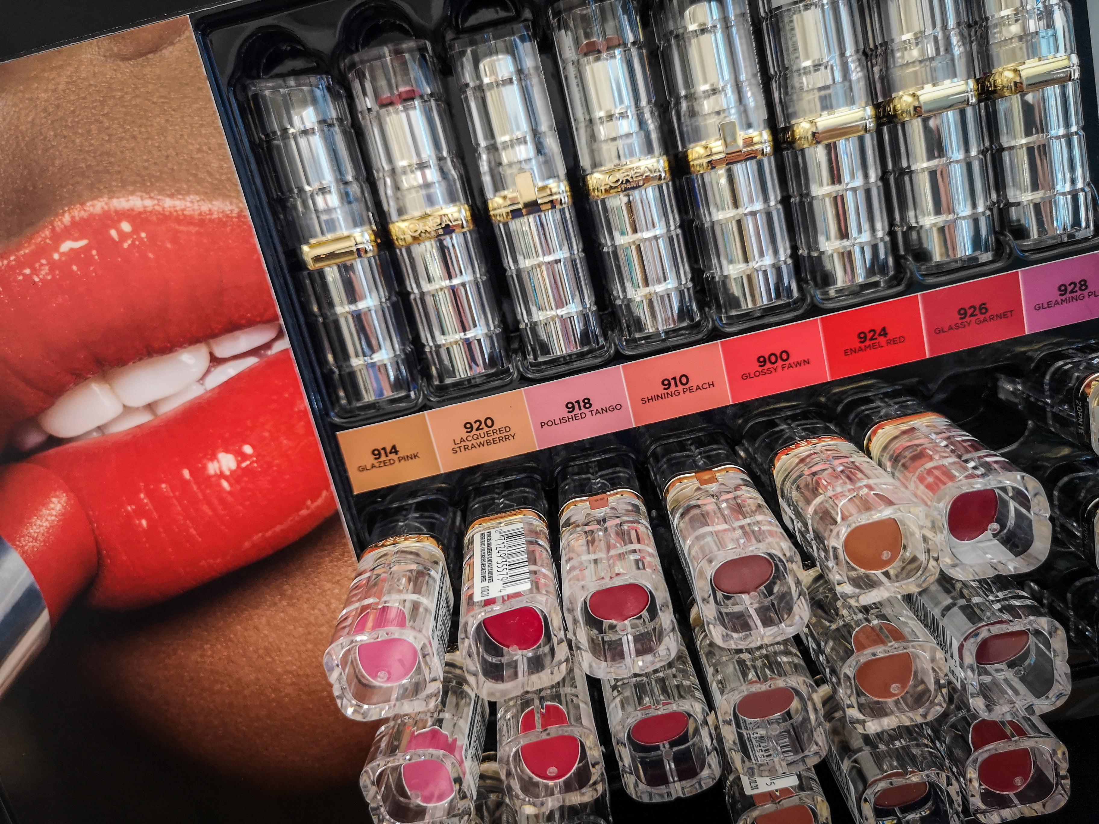 L'Oréal Paris lipstick