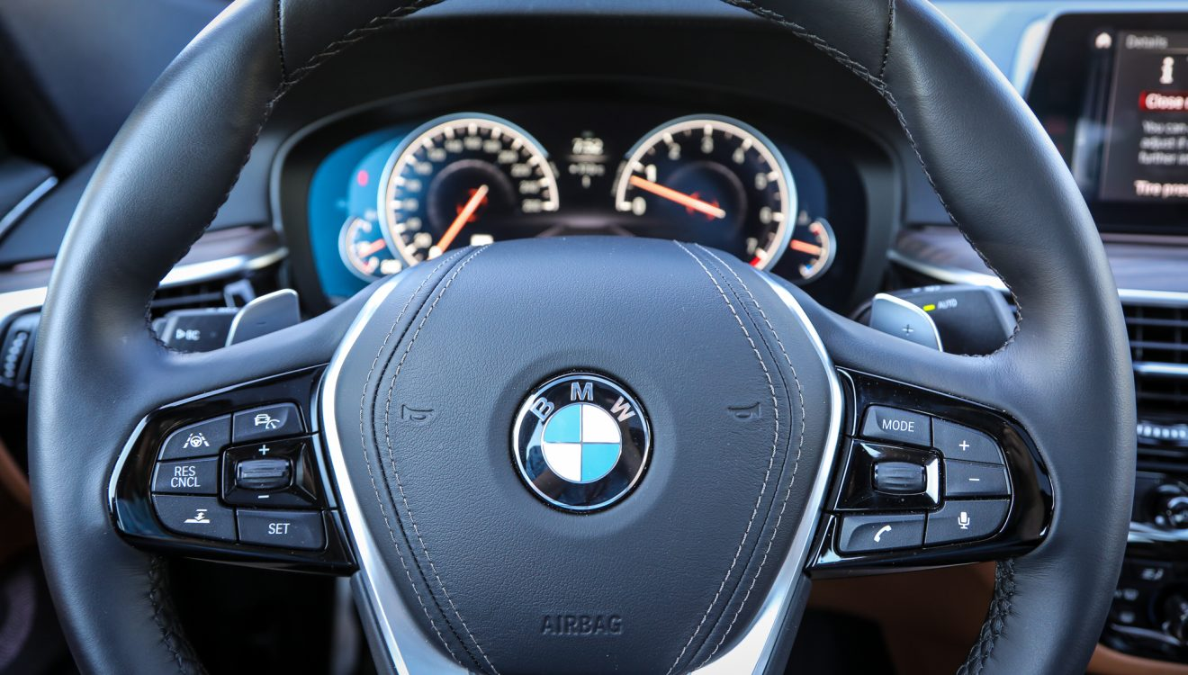 Behind the wheel of the BMW 640i xDrive GT